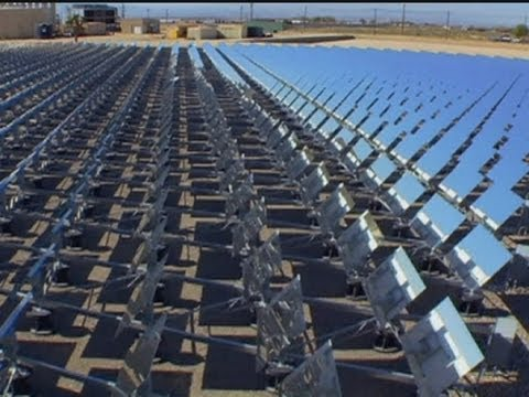 SOLAR - Power station could solve water crisis