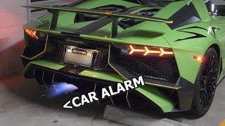 Exhaust so loud it sets off CAR ALARMS   My future Aventador SV