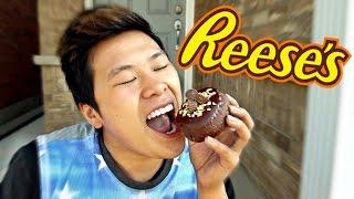 Reese's Peanut Butter Doughnut Taste Test