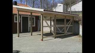Byggbeskrivning - Utvändigt - Carport