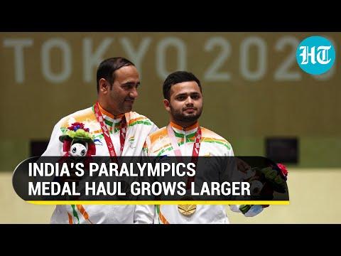 Paralympics: India win gold and silver in shooting; PM Modi hails Manish Narwal, Singhraj Adhana