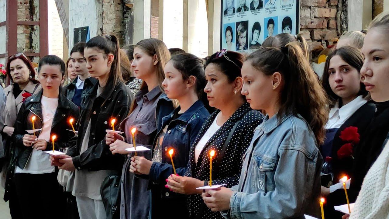 Бесланцы почтили память погибших в Казани