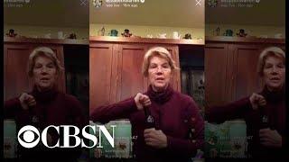 Elizabeth Warren drinking a beer on Instagram Live gets mixed reactions