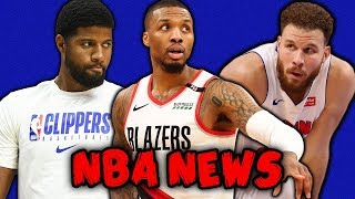 BLAZERS ENTER STATE OF EMERGENCY PROTOCOL! TRADE REQUIRED! PAUL GEORGE RETURN! | NBA NEWS