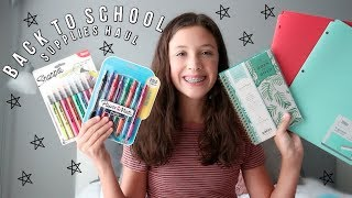 Back to School Supplies Haul 2018 || Brooke Elaine
