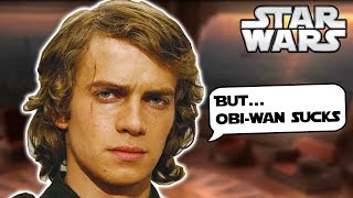 What Anakin said in the ORIGINAL Script About Obi-Wan to the Jedi Council - Star Wars Explained