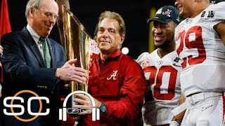 Nick Saban will do anything to help Alabama win   SC with SVP   ESPN