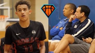Trae Young LIGHTS UP Peach Jam In Front Of Coach K!! | OFFICIAL Mixtape Vol. 1