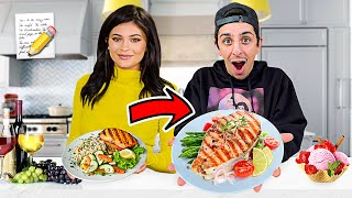 I Ate ONLY Kylie Jenner Food Recipes for 24 Hours! (DELICIOUS)