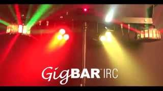 CHAUVET DJ GIGBAR IRC in action