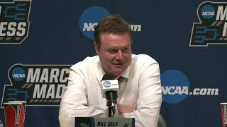 Press Conference: Kansas Second Round Postgame