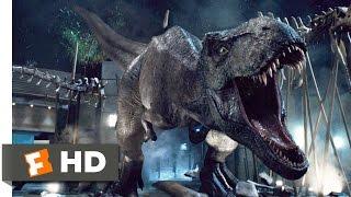 Jurassic World (2015) T-Rex vs. Indominus Scene (9/10)   Movieclips