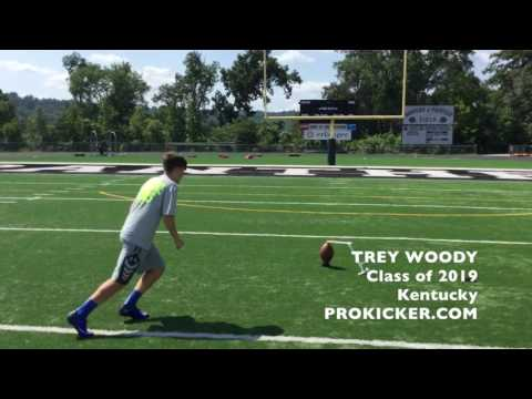 Trey Woody, Ray Guy Prokicker.com Kicker Punter, Class of 2019