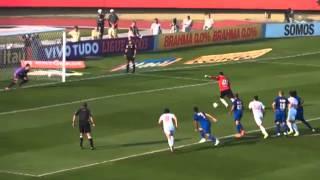 sao paulo 2 x 0 cruzeiro -gols-  brasileiro seire A - Rodada 21 -14/09/2014