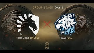 [11.05.2018] Highlight TL vs EVS [MSI 2018][Vòng Bảng]