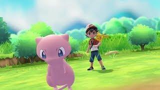 Mew Pokeball Plus Announcement for Pokemon Let's Go Pikachu & Eevee  - E3 2018