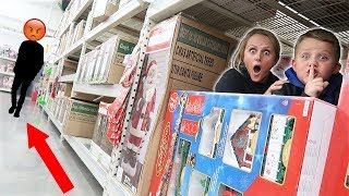 WE GOT KICKED OUT OF OUR BOX FORT! Vlogmas 2018