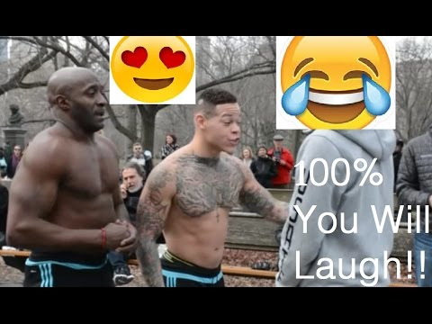 Funniest Street Performance!!   NYC-Central Park