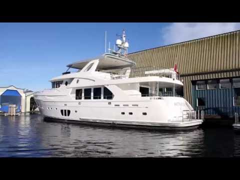 Sneak peek at the brand new Selene 92.  Full Tour coming soon at YachtVid