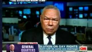 General Colin Powell Bitchslaps sean hannity, mitt romney and the gop