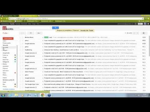 Google Apps - Oznake i podoznake u Gmailu
