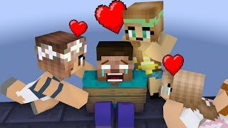 Monster School: Love Curse - Minecraft Animation