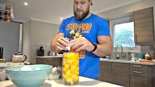 INSANE Raw Egg Eating Challenge! *DO NOT TRY THIS AT HOME*