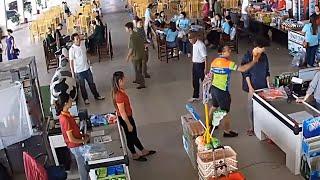 Thượng úy tát nhân viên trạm dừng nghỉ là con lãnh đạo CA tỉnh Thái Nguyên? | VTC14