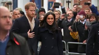 Prince Harry and Meghan Markle Make First Public Appearance Since Announcement