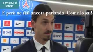 PSG: Ibra umilia il giornalista in diretta. 31/01/2015