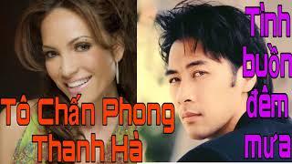 Album CD    Tình buồn đêm mưa    Tô chấn Phong - Thanh Hà    Nhạc hải ngoại .