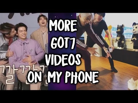 Apparently I have 500 MORE Got7 videos on my phone now so here are the best ones [Phone Vids #4]