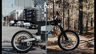 CAKE Kalk INK SL : la nouvelle moto électrique suédoise en vidéo