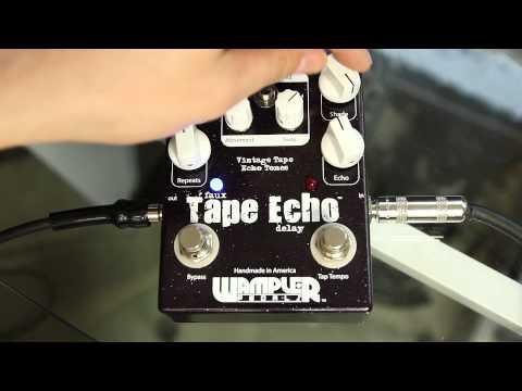 Wampler Faux Tape Echo Tap Tempo