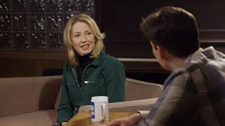 Carrie Coon on The Interview Show With Mark Bazer