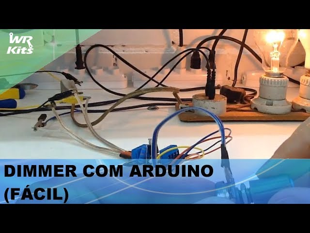 DIMMER COM ARDUINO (FÁCIL)