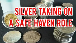 Is Silver Finally a Safe Haven?  Silver and gold prices rise with Federal Reserve rate cut likely.