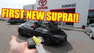 Taking Delivery of my TOYOTA SUPRA!!