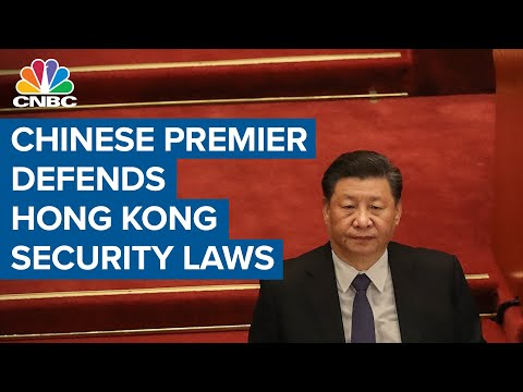 Chinese Premier defends national security laws for Hong Kong