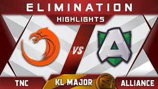 TNC vs Alliance Elimination Kuala Lumpur Major KL Major Highlights Dota 2