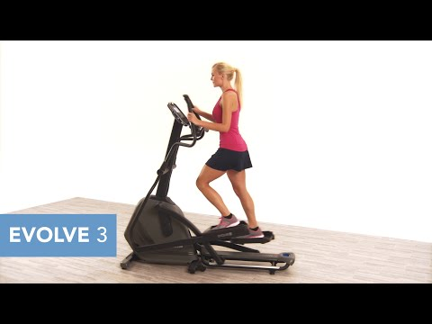 video Horizon Fitness Evolve 3 Elliptical Trainer