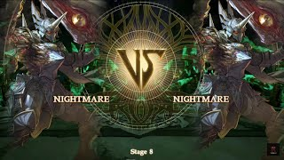 Soul calibur 6 NIGHTMARE VS NIGHTMARE !!! The true battle ends here !!!