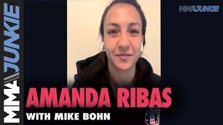 Amanda Ribas sees chance to grow stardom fighting under McGregor-Poirier | UFC 257 interview