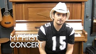 My First Concert: Brad Paisley