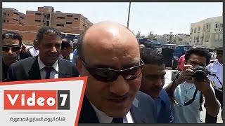 بالفيديو.. هشام جنينة فى quotأمن الدولةquot متخفيا بنظارة سوداء     -