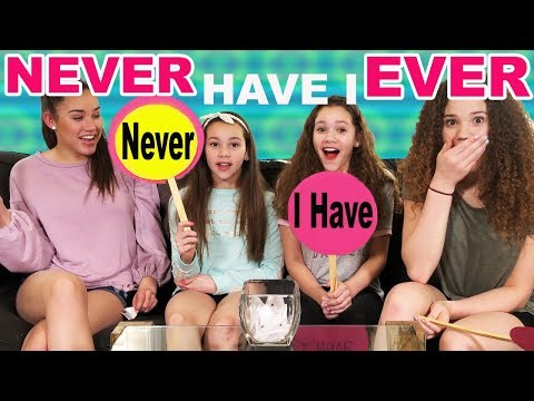 NEVER HAVE I EVER! (Haschak Sisters)