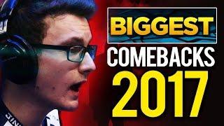 Biggest Comebacks of 2017 – Dota 2