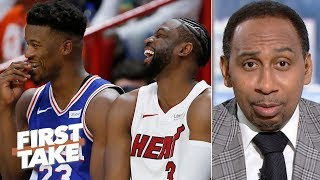 Jimmy Butler is never going to be loved like Dwyane Wade in Miami – Stephen A. | First Take