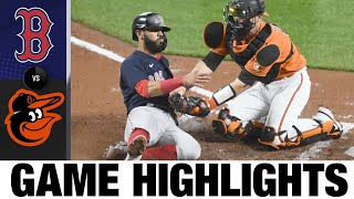 Red Sox vs. Orioles Game Highlights (4/10/21) | MLB Highlights