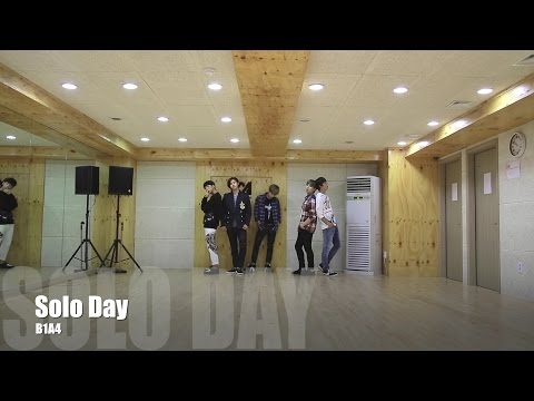 B1A4 - SOLO DAY 안무 영상 (Dance Practice Video)